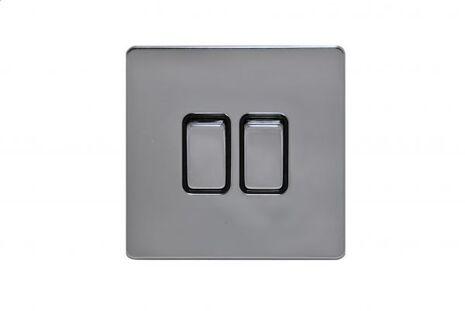 Двухклавишный проходной выключатель TJ Electric G252-2-86-РС
