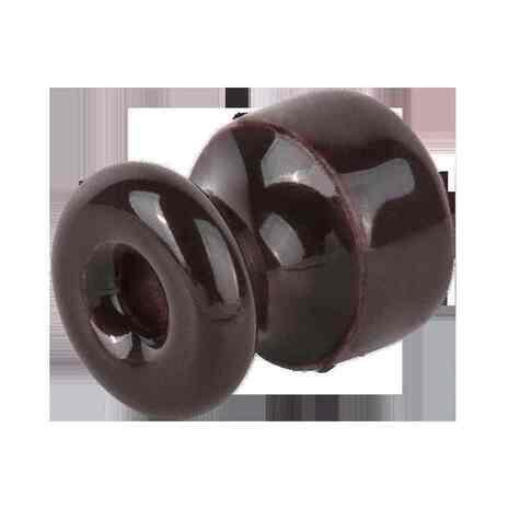 WL18-17-01 Комплект изоляторов с крепежом 10 шт. (коричневый) Ретро арт.WL00383