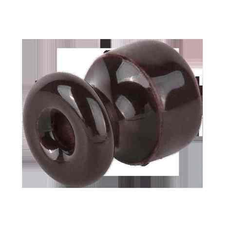 WL18-17-01 Комплект изоляторов с крепежом 50 шт. (коричневый) Ретро арт.WL00384