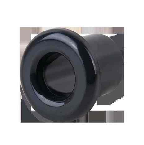 WL18-18-01 Втулка для вывода кабеля из стены 2 шт.(черный) Ретро арт.WL00389
