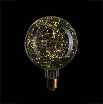 Лампа G200 STARRY, LED 5W, Прозрачная, E40, 240V, 2700К, 057-035