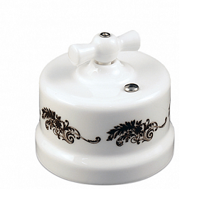 B1-203-01 D2/1 Bironi Перекрестный выключатель, декор