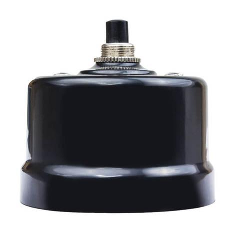 Выключатель импульсный BIRONI с кнопкой KN-23 Черный
