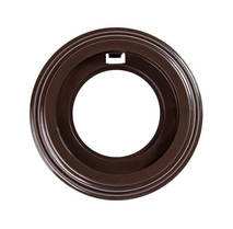 BF1-610-22 Bironi Рамка 1 постовая, Пластик коричневый