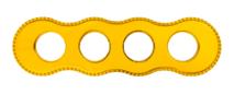 BF8-640-31 Bironi Рамка четырехместная, Металл золото