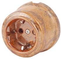 080-583 Розетка Мон шери электрическая керамическая. С заземляющим контактом.240V, 16A.