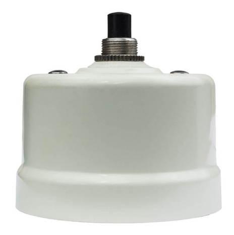 Выключатель импульсный BIRONI с кнопкой KN-211 Слоновая кость