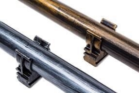 Крепеж-клипса для трубы 16мм (пластм.) Bironi BTK1-16-11 , Серебряный Век
