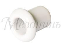 Втулка межстеновая фарфоровая, цвет - Белый, D25, H25мм МЕЗОНИНЪ GE70010-01