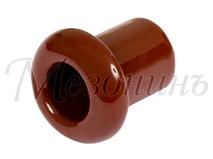 Втулка межстеновая фарфоровая, цвет - Коричневый, D25, H25мм МЕЗОНИНЪ GE70010-04