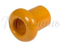 Втулка межстеновая фарфоровая, цвет - Песочное золото, D25, H25мм МЕЗОНИНЪ GE70010-32