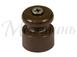 Изолятор пластиковый D20x22 витого кабеля, цвет - коричневый МЕЗОНИНЪ GE70017-040