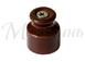Изолятор фарфоровый коричневый витого провода, D20х24, МЕЗОНИНЪ GE70020-040