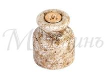 Изолятор фарфоровый мрамор витого провода, D20х24, МЕЗОНИНЪ GE70020-19