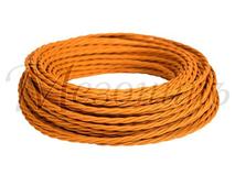 Провод витой ПВХ 2х1,5мм цвет- медь , МЕЗОНИНЪ (50м) GE70141-33