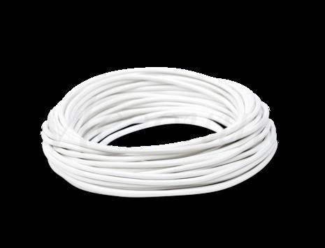 Провод круглый ПВХ 2х1,5, цвет - белый, МЕЗОНИНЪ (25м) GE70161-01