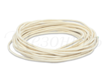 Провод круглый ПВХ 2х0,75, цвет - слоновая кость, МЕЗОНИНЪ (25м) GE70160-02