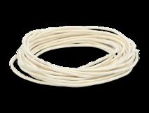 Провод круглый ПВХ 2х1,5, цвет - слоновая кость, МЕЗОНИНЪ (25м) GE70161-02