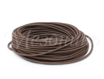 Провод круглый ПВХ 2х1,5, цвет - коричневый, МЕЗОНИНЪ (25м) GE70161-04