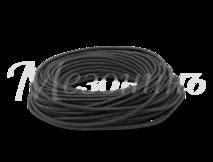 Провод круглый ПВХ 2х0,75, цвет - черный, МЕЗОНИНЪ (25м) GE70160-05