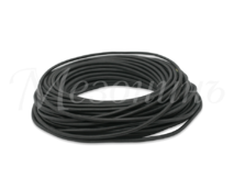 Провод круглый ПВХ 2х1,5, цвет - черный, МЕЗОНИНЪ (25м) GE70161-05