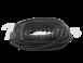 Провод круглый ПВХ 2х2,5, цвет - черный, МЕЗОНИНЪ (25м) GE70162-050