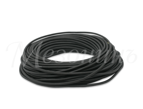 Провод круглый ПВХ 3х1,5, цвет - черный, МЕЗОНИНЪ (25м) GE70171-05