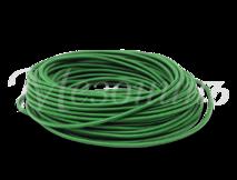 Провод круглый ПВХ 2х0,75, цвет - зеленый шелк, МЕЗОНИНЪ (25м) GE70160-10