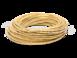 Провод круглый ПВХ 2х2,5, цвет - желтый шелк, МЕЗОНИНЪ (25м) GE70162-300