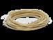 Провод круглый ПВХ 2х0,75, цвет - песочное золото, МЕЗОНИНЪ (25м) GE70160-320