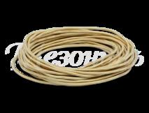 Провод круглый ПВХ 2х1,5, цвет - песочное золото, МЕЗОНИНЪ (25м) GE70161-32