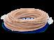 Провод круглый ПВХ 2х0,75, цвет - капучино, МЕЗОНИНЪ (25м) GE70160-350