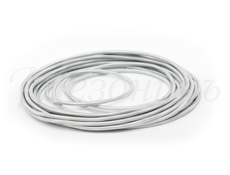 Провод круглый ПВХ 2х0,75, цвет - титан, МЕЗОНИНЪ (25м) GE70160-37