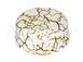 Коробка распределительная фарфоровая D80*33мм, цвет - светлый мрамор, МезонинЪ GE70235-200