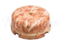 Коробка распределительная фарфоровая D80*33мм, цвет - темный мрамор, МезонинЪ GE70235-21