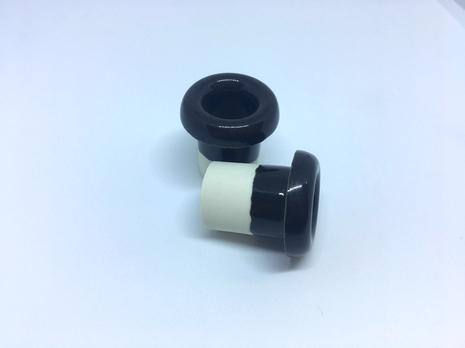 Кабель-проход керамич. (Черный глянец) арт.Z003265