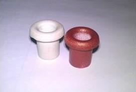 КП-01 Кабельный проход фарфор глазурованный h=25mm, D=25mm, d=12,5mm, белый