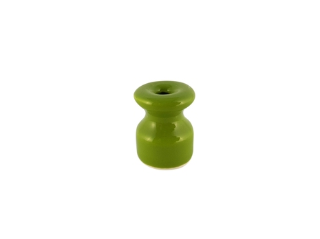 Leanza Изолятор фарфоровый, цвет PISTACCHIO (фисташковый) ИФ