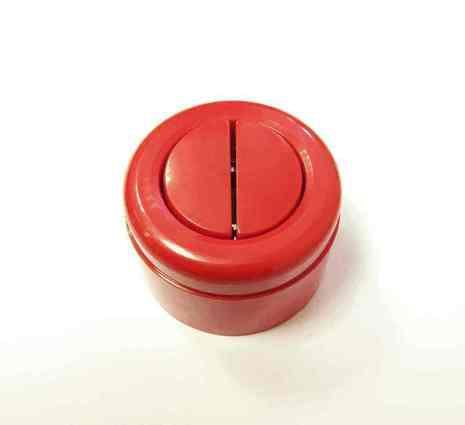 Interior Electric Выкл. 2кл, о/у, 10А, ABS, (красный)