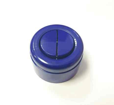 Interior Electric Выкл. 2кл, о/у, 10А, ABS, (синий)