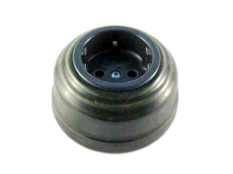 Leanza Розетка с/з, цвет grigio (серый), серебристый саморез РСС