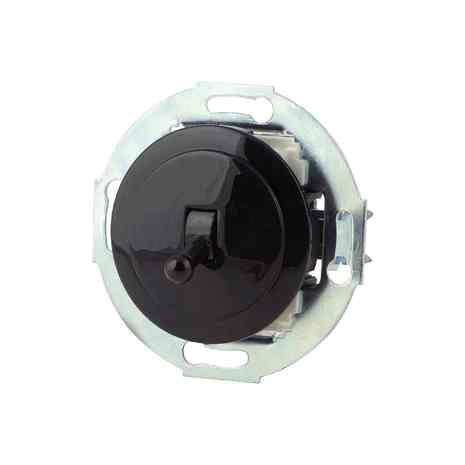 880805-4 Выкл 1кл, проходной, тумблерный  10 A, 250 B чёрный/чёрный металл