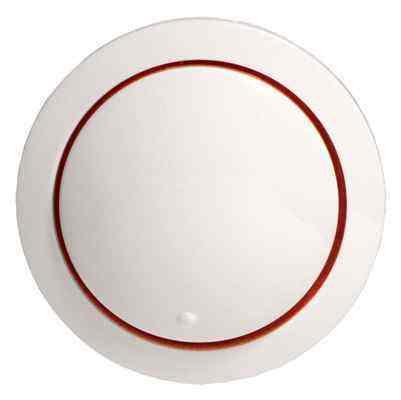 887104-1 Накладка светорегулятора со световой индикацией (белый) Vintage