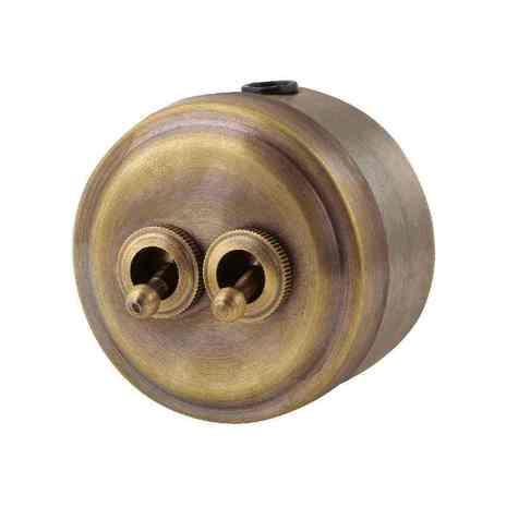 М2-12-30 Выключатель 2кл, бронза