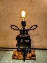 Настольная лампа Звонок из чугуна