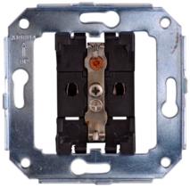Механизм розетки с заземляющим контактом B3-101-** Bironi