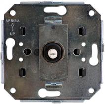 В3-202-** Bironi Механизм выключателя 2-х клавишный С/М