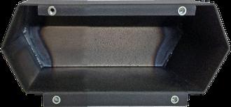 Металлический подрозетник 2 поста