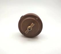 Выключатель 1-кл (проходной) PETRUCCI поворотный четырёхпозиционный, сталь, цвет марс, арт. 35ST3