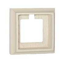 Рамка 1-ная Villaris-Simon, серия Empty, 7311013, цвет - слоновая кость